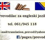 Prevod - Prijevod - Prevođenje sa i na engleski jezik