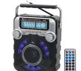 FM radio za kamp solarno punjenje, LED lampa, USB