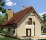 Montažne kuće-idejno rješenje, projektovanje, izrada