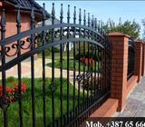Usluga izrade i montaže metalnih ograda