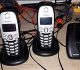 Fiksni telefon 3 slusalice Siemens Gigaset C450