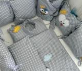 Jorgan, jastuk, zaštitna ogradica