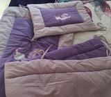 Djecija ogradica i posteljina