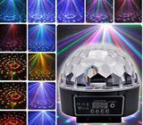 Disko kugla lampa zvuÄnik i USB novogodišnji NOVO