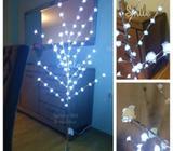 Novogodisnje drvo drvce lampice jelka 160cm Bijela