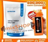IMPACT WHEY PROTEIN 2,5kg MYPROTEIN + BCAA Cream