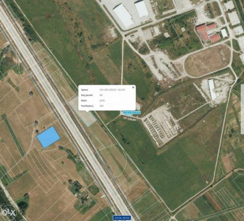 Građevinsko zemljište u industrijskoj zoni