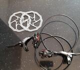 Hidraulicne kocnice (prednja i zadnja) sa diskovima