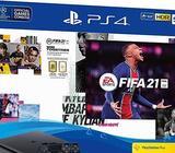 PlayStation 4 500GB FIFA 21, 2 JOYSTICKA