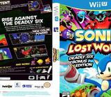 Wii u sonic lost world