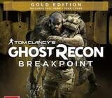 PS4 Ghost Recon Breakpoint Gold Edition