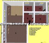 BULEVAR - Dvosoban stan površine 52 m², niže spratnosti