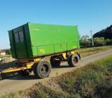 Prikolica dvoosovinka prikolice za traktor zetor trakto